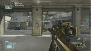 Black ops 2 - DSR 50 - Amazing kill feed