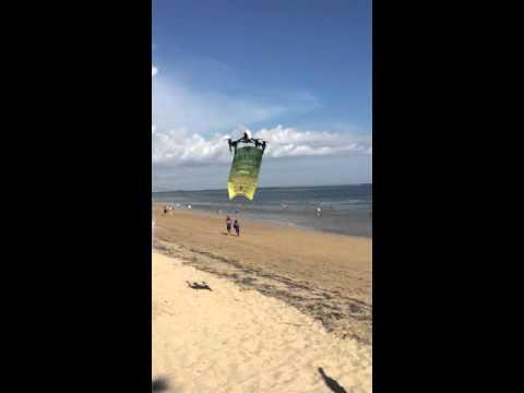 Barbs sports bar advertising banner. Mertisari festival. Mercure hotel. Sanur beach. Bali Indonesia