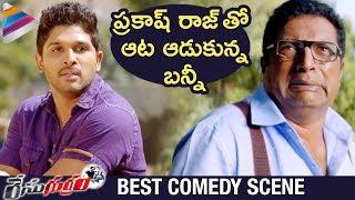 Allu Arjun Troubles Prakash Raj | Race Gurram BEST Comedy Scenes | Shruti Haasan | Saloni | Thaman S