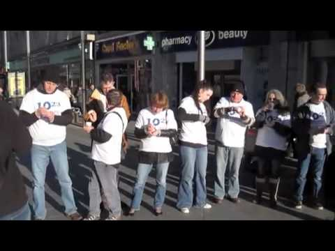 ten23 Homeopathy Protest - Leicester 2010