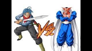 FUTURE TRUNKS vs DABURA || DRAGON BALL SUPER MANGA