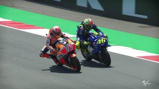 2018 Italian GP - Yamaha in action