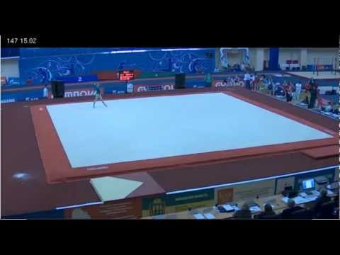 Ksenia Afanasyeva - Floor - Day 2, Russian Championships, 22.03.2012