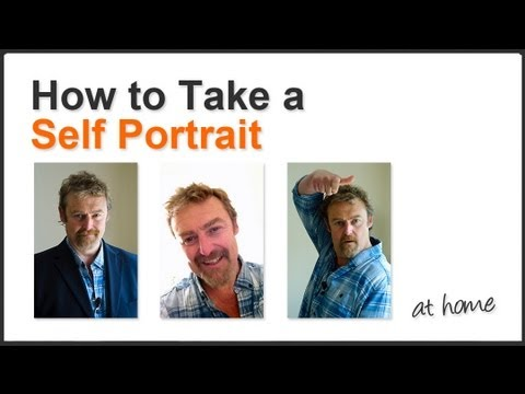 How To Take A Self Portrait (at home)
