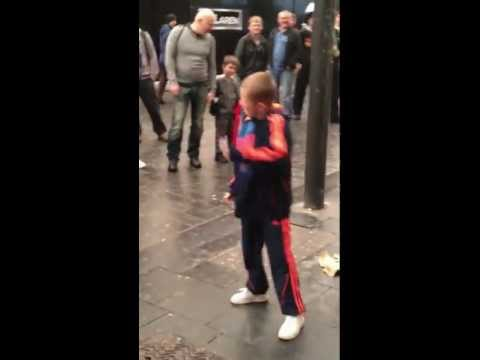 Spontaneous Young Street Dancer in Liverpool...Keep Streets Live...Busking