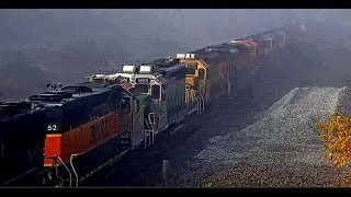 FOG-A-LICIOUS ENGINE CONSIST!!! La Plata, MO!