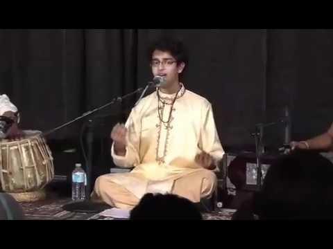 Akhil Jobanputra rendering Raaga Adana and a Marathi Natyasangeet...