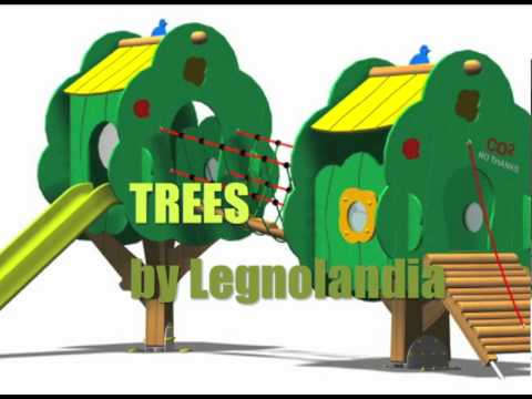 TREES by LEGNOLANDIA - New thematic playgrounds