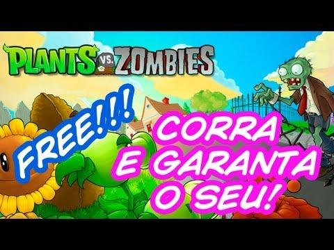 Jogo de Graça - Corra e garanta o seu Plants vs Zombies