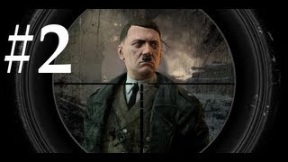 Sniper Elite V2 Walkthrough / Gameplay Part 2 - My Useless Search