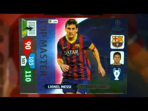 Champion League Cards 2014 Champions League 2013-2014