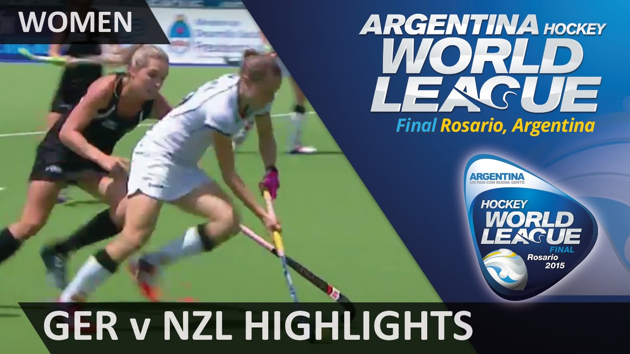 Germany v New Zealand Match Highlights #HWL2015 #Rosario
