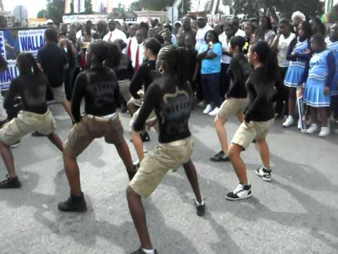 south dade middle school steppin @ MLK parade