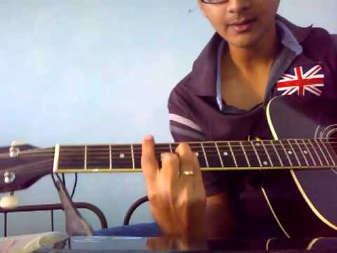 Mann Mera (Table No. 21) Guitar lesson by Mykee