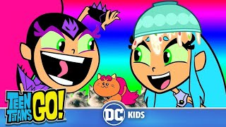 Top 10 Funniest Starfire Moments | Teen Titans Go! | DC Kids