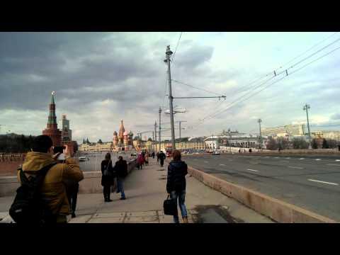 Прилет Путина в Кремль