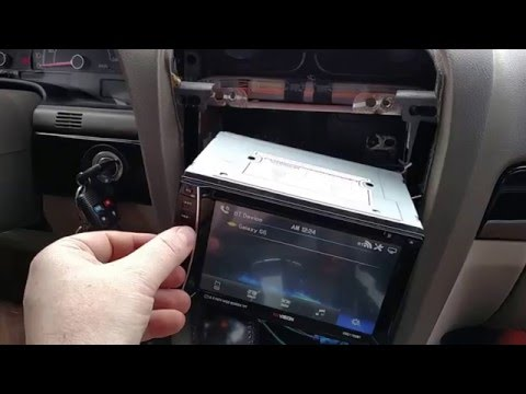 Review and install of the XO Vision double din radio. with factory speakers and kicker 12s