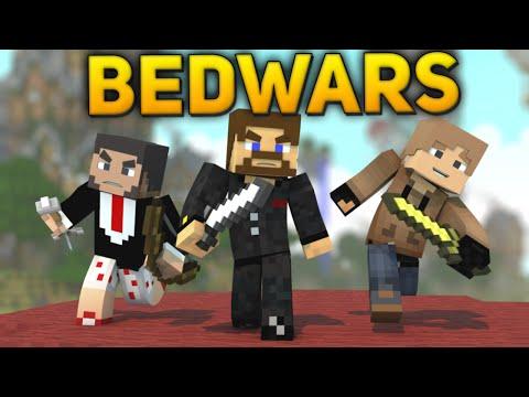Minecraft BedWars #61 - Живи Джейви :D