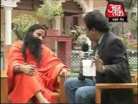 Baba Ramdev exposed Rahul Gandhi Corruption and frauds on AajTak