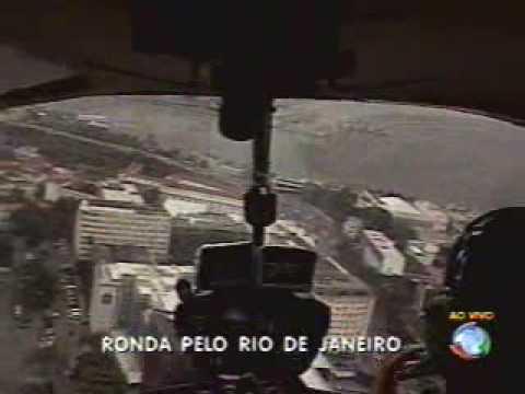 WAGNER MONTES -  DENTRO DO HELICOPTERO DA RECORD RIO ( CMTE PASSOS)