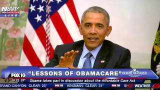 MUST WATCH: Obama Calls Out the News Media on Unfair Obamacare Coverage, Offers His Advice FNN