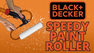 How to Use the Black & Decker BDPR400 Speedy Paint Roller