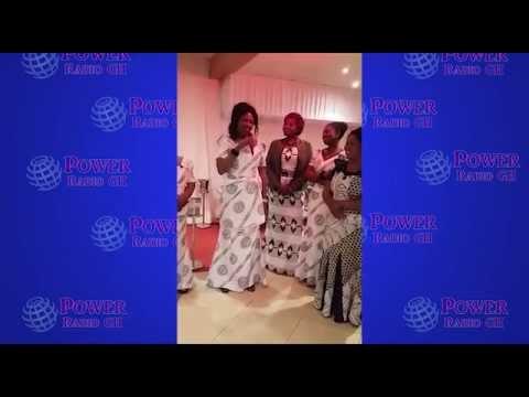 Ante Aggei thanking Ghanaians in Paris