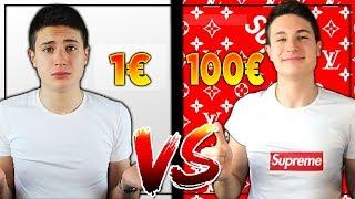 TRASFORMARE UNA MAGLIETTA DA 1€ IN UNA DA 1000€! Supreme box logo