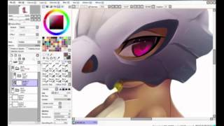 Cubone unmasked speed paint