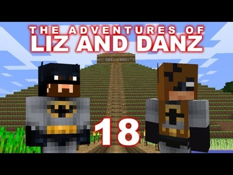 Adventures of Liz and Danz Pt18 (Minecraft)