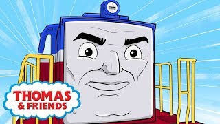 Ivan's Chilly Way Home | Great Race Friends Near and Far | Thomas & Friends | Kids Cartoons