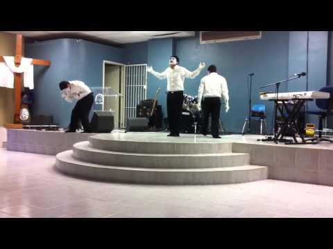 Drama de mimos-Si hubiera estado ahi: Jesus Adrian Romero