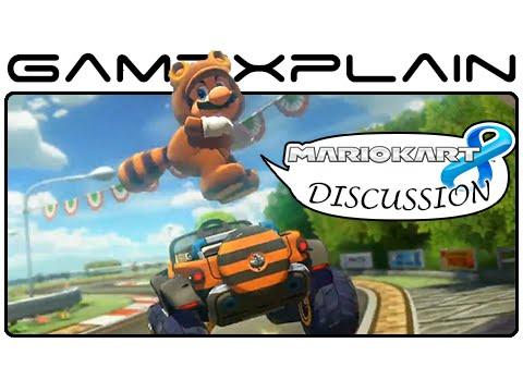 Mario Kart 8 - Yoshi Circuit DLC Discussion (Retro Track - Wii U)
