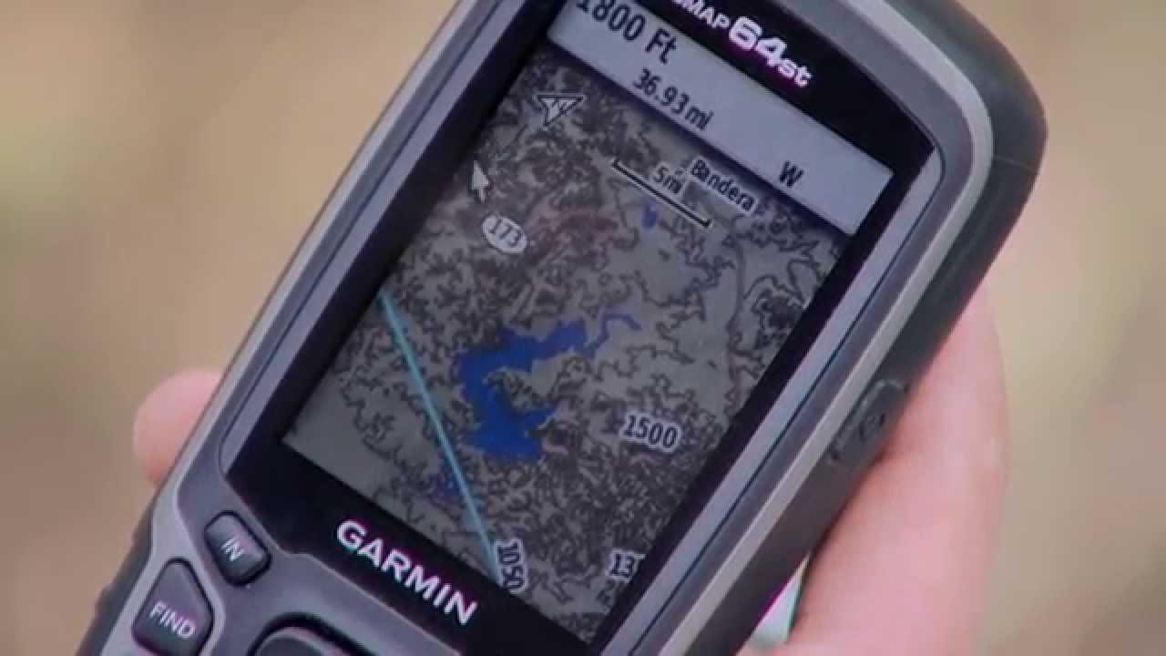 Garmin Gps Watch >> Garmin GPS 64ST - YouTube