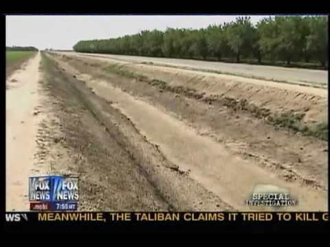Sean Hannity exposes the man-made drought in California