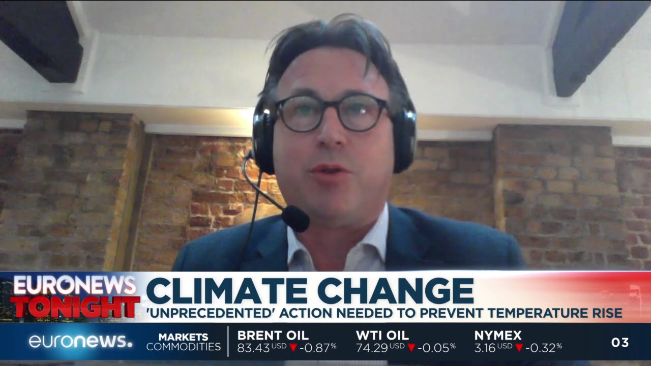 Euronews Tonight: Nick Mabey talks to Euronews of the IPCC report