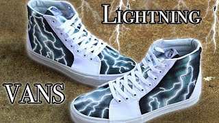 Custom Vans Lightning!   (+Giveaway)