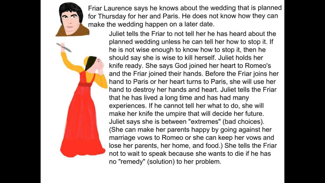 Romeo and Juliet - Act 4, Scene 1 Summary - YouTube