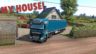 ETS2 Parking At My House (Euro Truck Simulator 2)