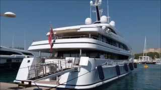 Superyacht Aurora owned by Charles Wang