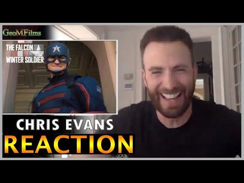 Chris Evans REACTION to NEW Captain America Dub