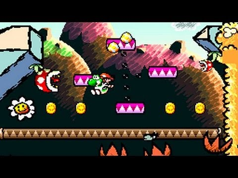 Vamos Jogar: Yoshi's Island (parte 1)