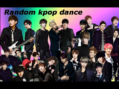 Random kpop dance ( boy groups )