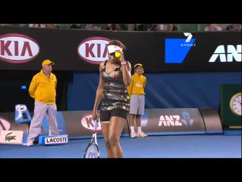 Andrea Petkovic vs. Venus Williams at the Australian Open 2011