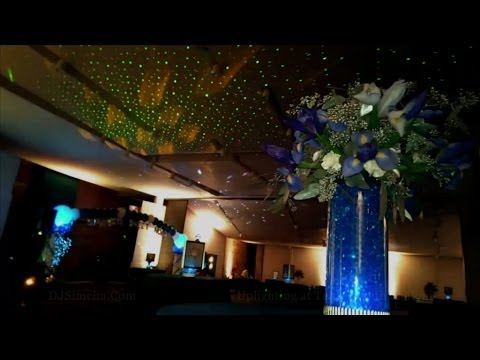 Timo.DJ: Up-Lighting @ Temple Beth Shalom (djSimcha.Com)