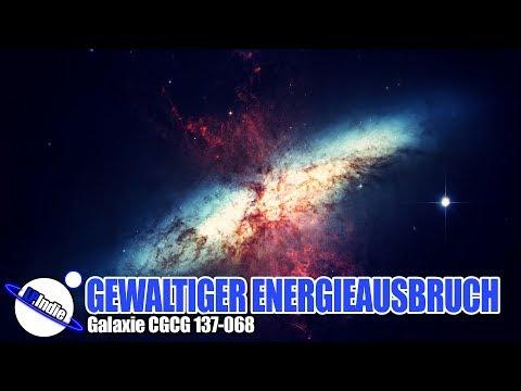 Gewaltiger Energieausbruch in Galaxie CGCG 137-068