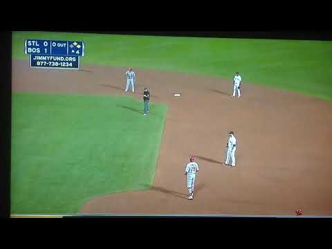 Red Soxturn Triple Play Vs Cardinals Live August 15 2017