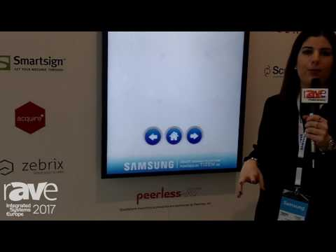 ISE 2017: Samsung Talks About Its SMART Signage Partners