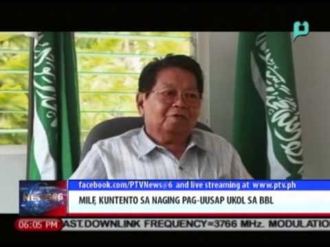 MILF, kuntento sa naging pag-uusap ukol sa Bangsamoro Basic Law || Aug. 18, 2014