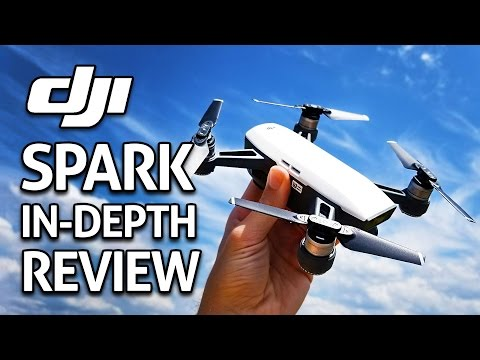 DJI SPARK IN-DEPTH REVIEW!! (4K)